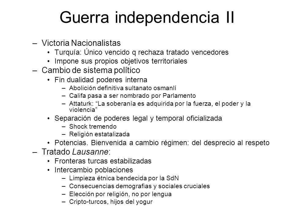Guerra independencia II