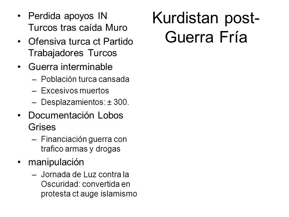 Kurdistan post- Guerra Fría