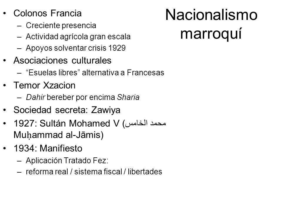 Nacionalismo marroquí