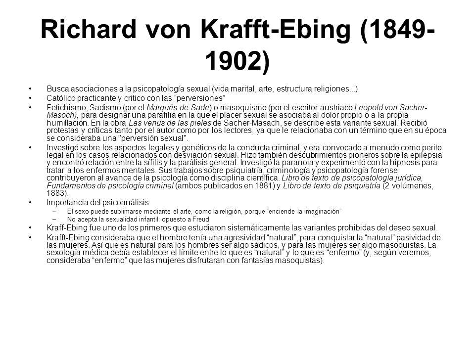 Richard von Krafft-Ebing (1849-1902)