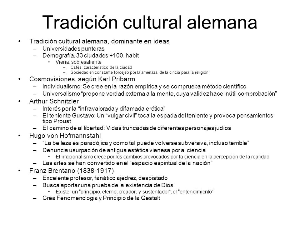 Tradición cultural alemana