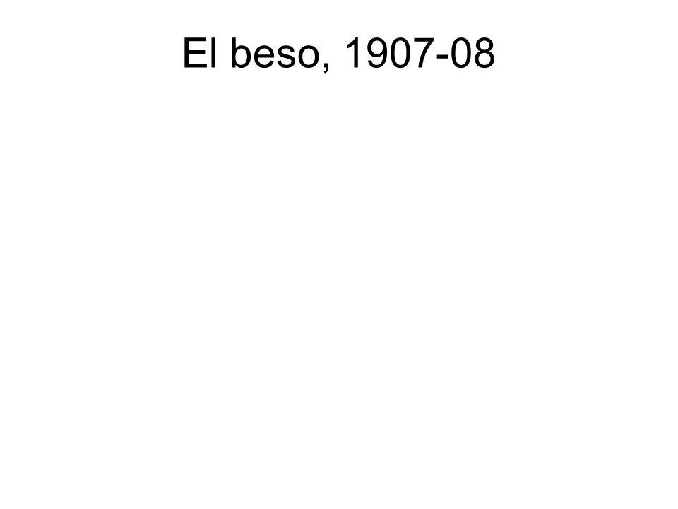 El beso, 1907-08