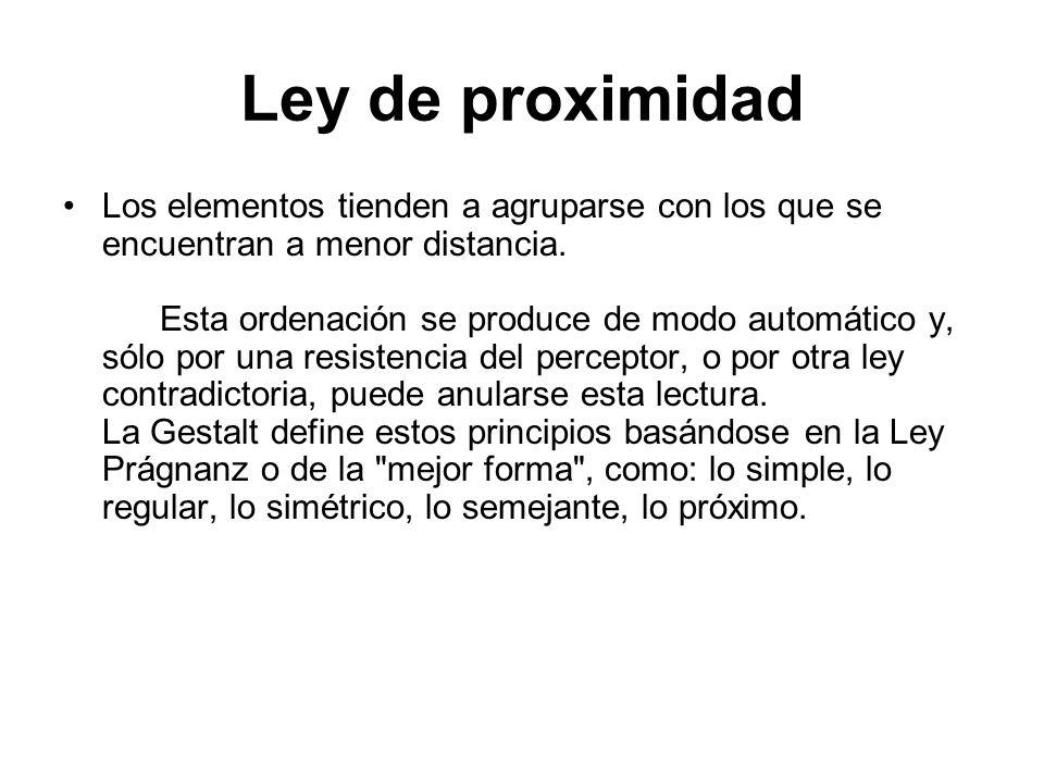 Ley de proximidad