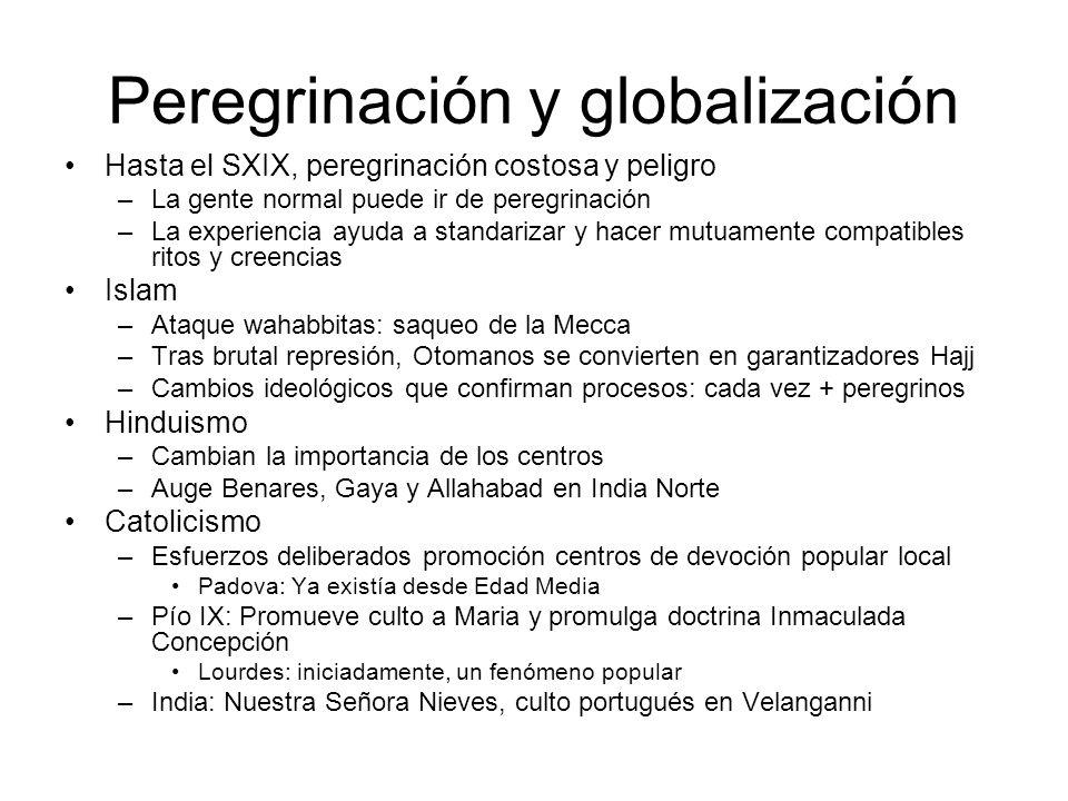 Peregrinación y globalización