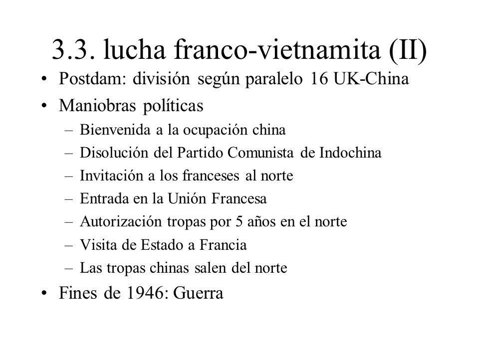 3.3. lucha franco-vietnamita (II)