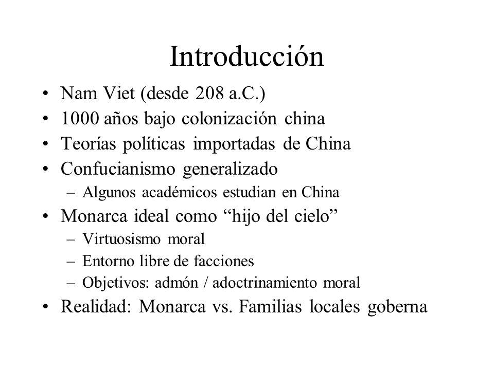 Introducción Nam Viet (desde 208 a.C.)
