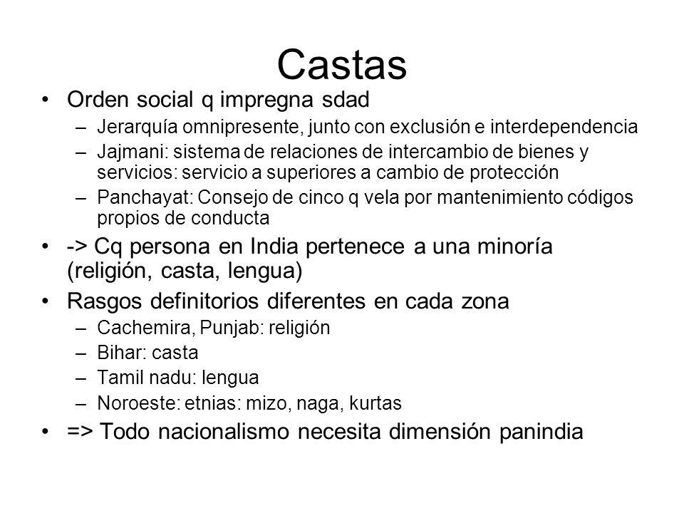 Castas Orden social q impregna sdad
