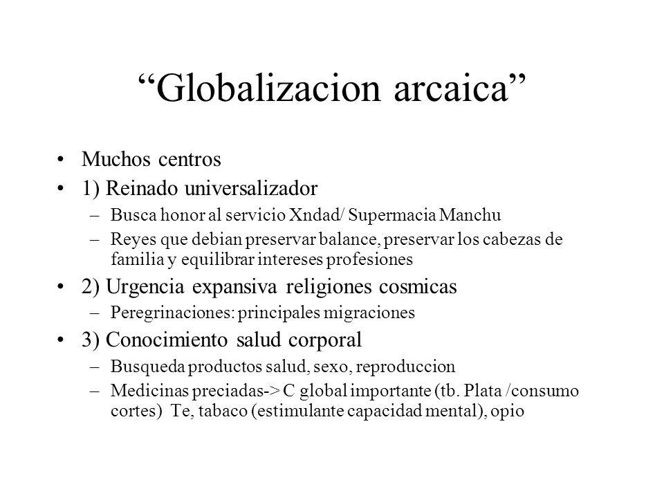 Globalizacion arcaica