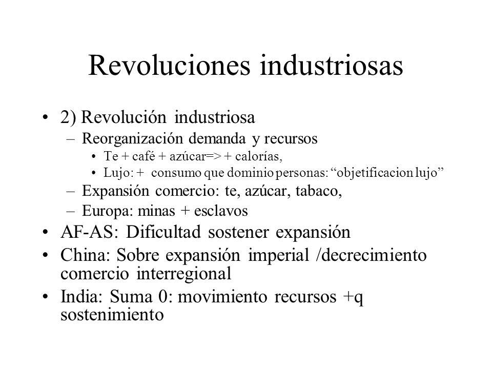 Revoluciones industriosas