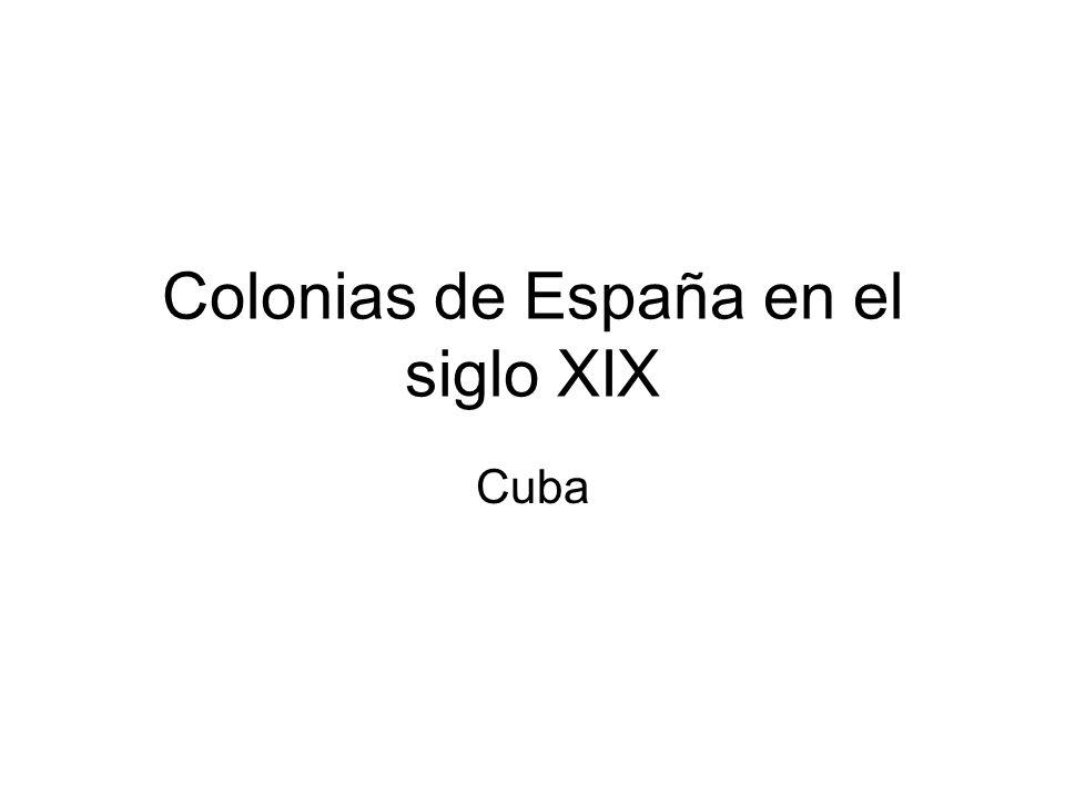 Colonias de España en el siglo XIX