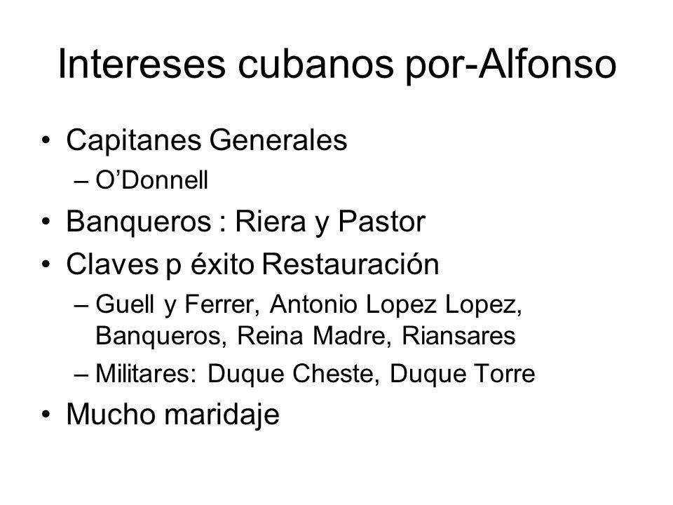 Intereses cubanos por-Alfonso