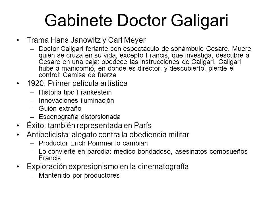Gabinete Doctor Galigari