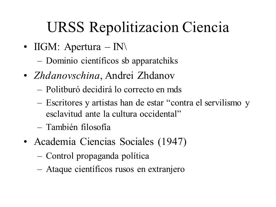 URSS Repolitizacion Ciencia