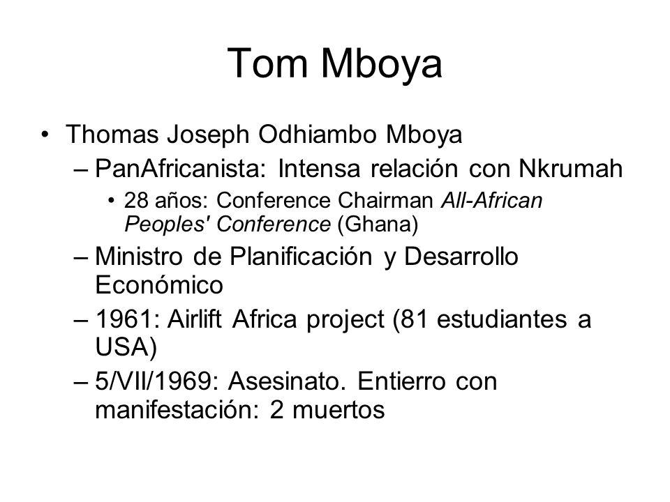 Tom Mboya Thomas Joseph Odhiambo Mboya