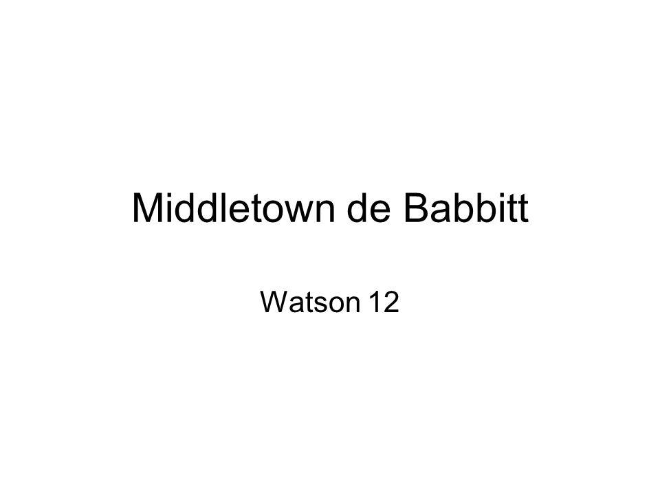 Middletown de Babbitt Watson 12