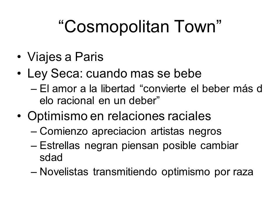 Cosmopolitan Town Viajes a Paris Ley Seca: cuando mas se bebe