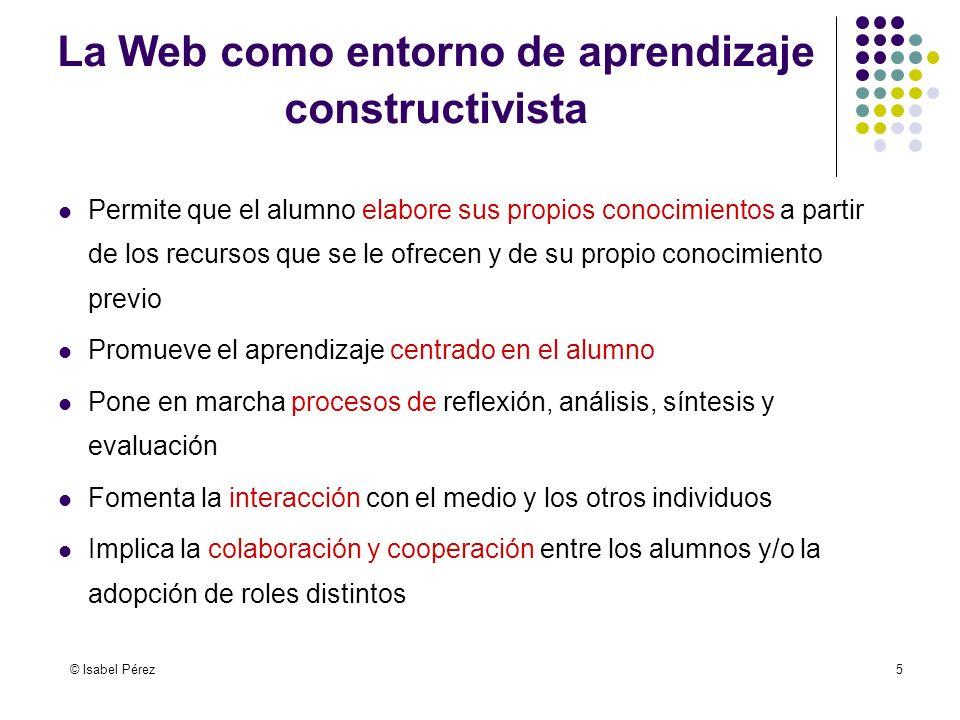 La Web como entorno de aprendizaje constructivista