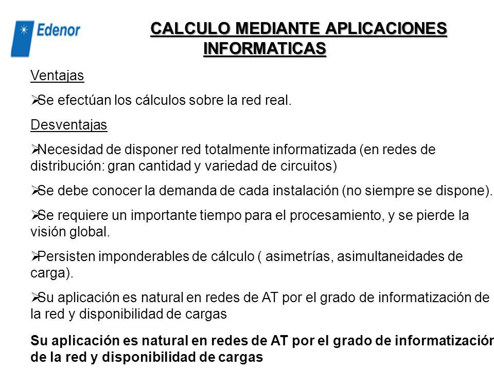 CALCULO MEDIANTE APLICACIONES INFORMATICAS