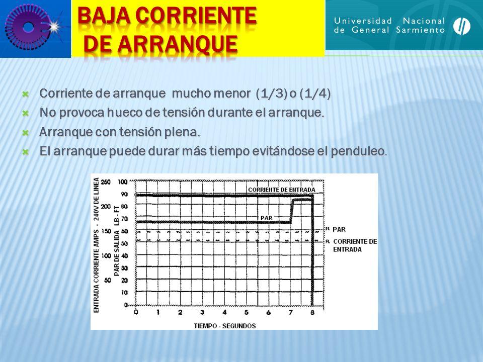 BAJA CORRIENTE DE ARRANQUE