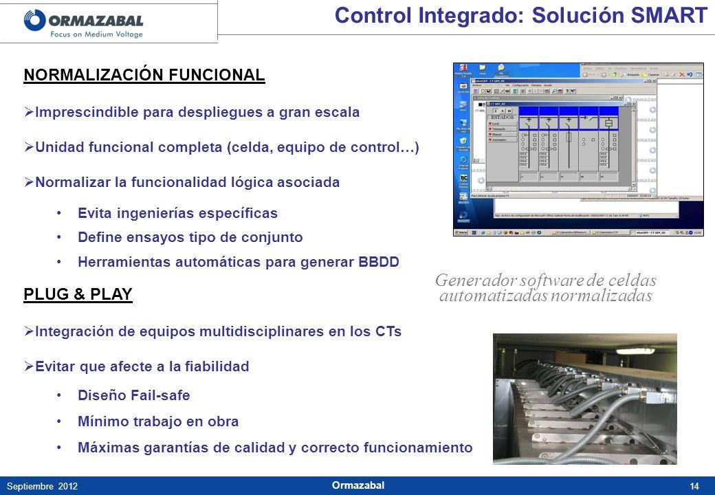 Generador software de celdas automatizadas normalizadas
