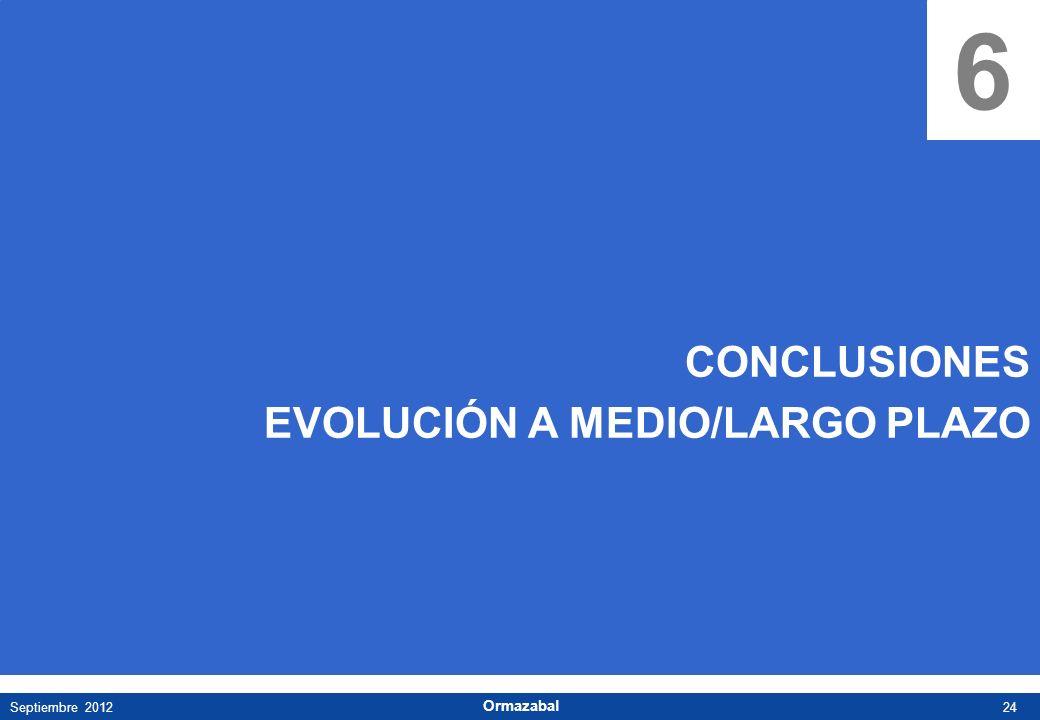 6 CONCLUSIONES EVOLUCIÓN A MEDIO/LARGO PLAZO