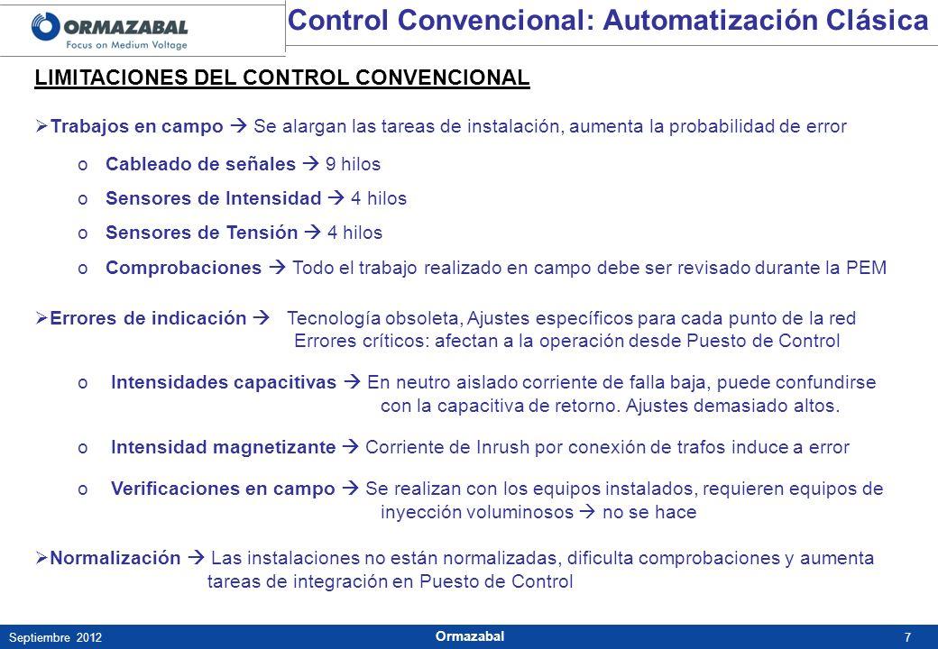 Control Convencional: Automatización Clásica