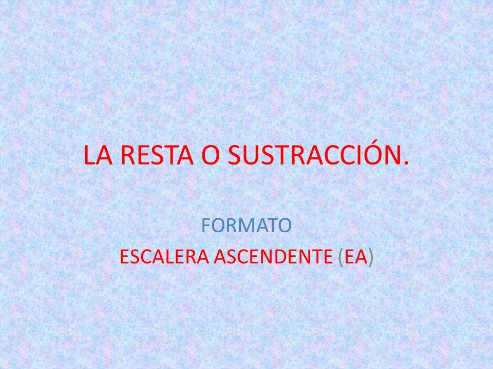 FORMATO ESCALERA ASCENDENTE (EA)