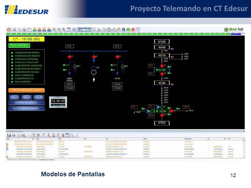 Proyecto Telemando en CT Edesur