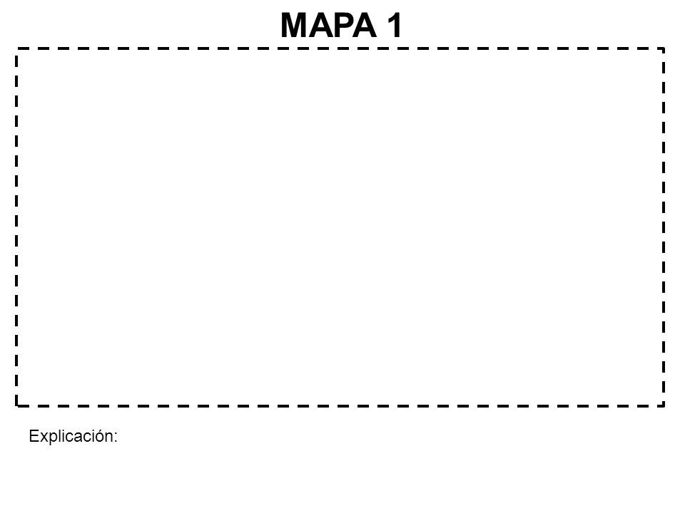 MAPA 1 Explicación: