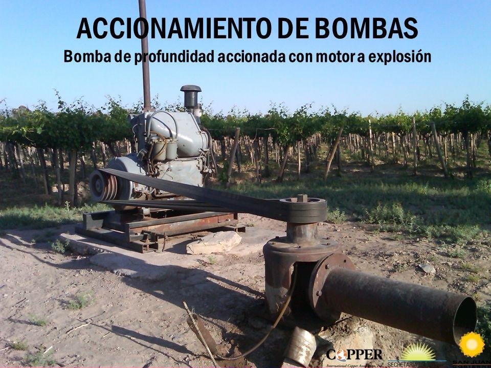 ACCIONAMIENTO DE BOMBAS