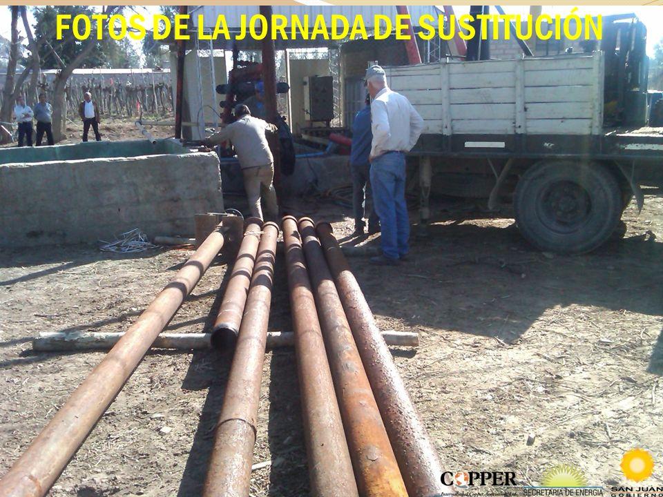 FOTOS DE LA JORNADA DE SUSTITUCIÓN