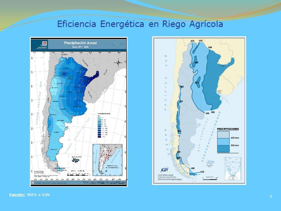 Eficiencia Energética en Riego Agrícola