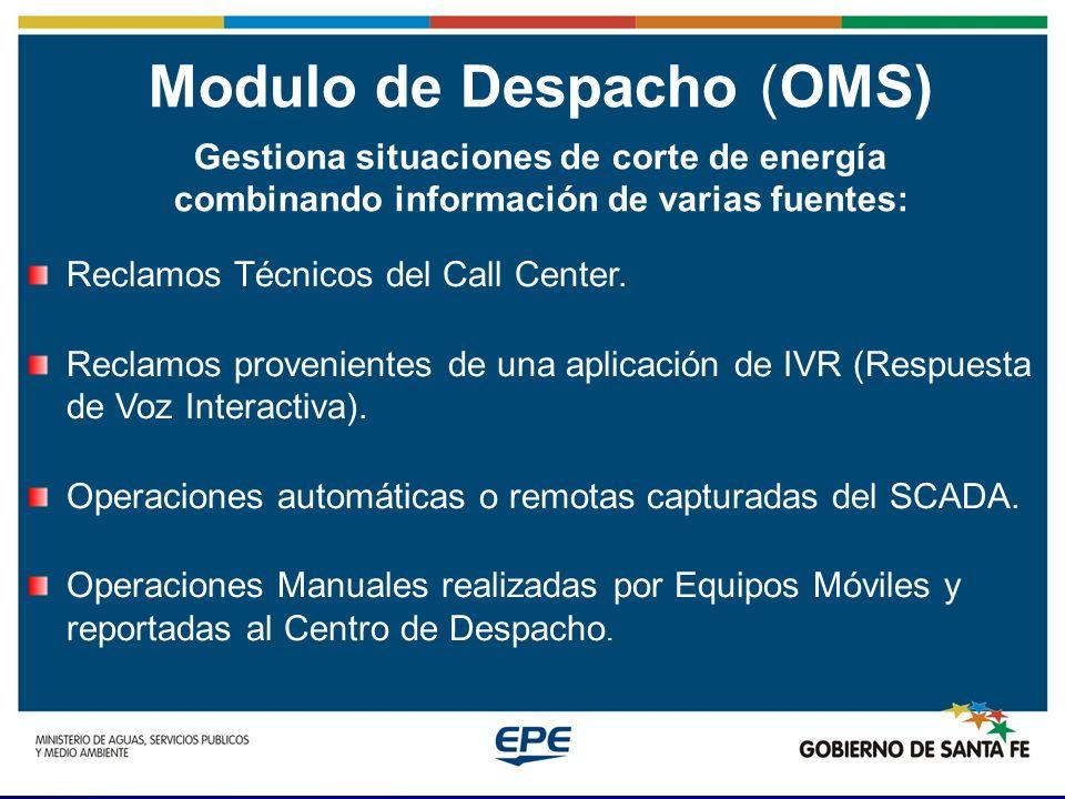 Modulo de Despacho (OMS)