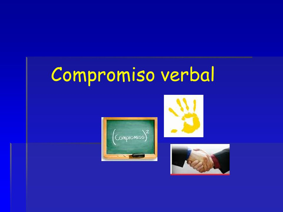 Compromiso verbal