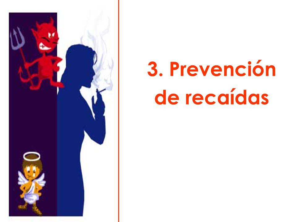 3. Prevención de recaídas