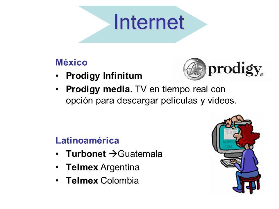 Internet México Prodigy Infinitum