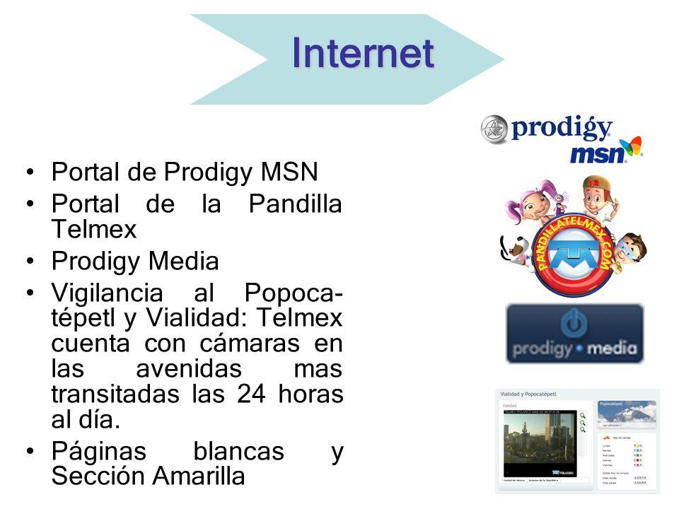 Internet Portal de Prodigy MSN Portal de la Pandilla Telmex