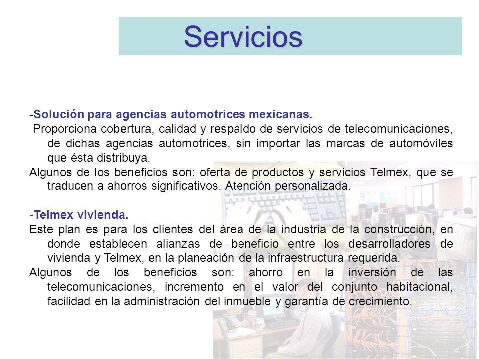 Servicios -Solución para agencias automotrices mexicanas.