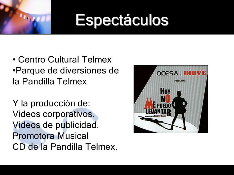 Espectáculos Centro Cultural Telmex