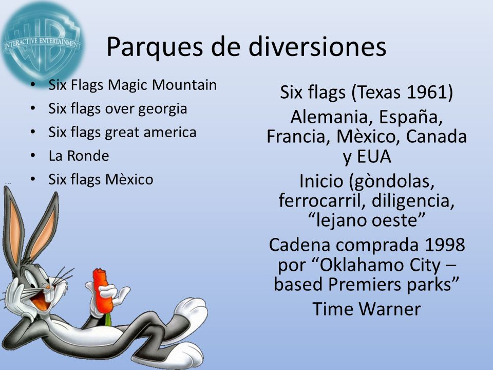 Parques de diversiones