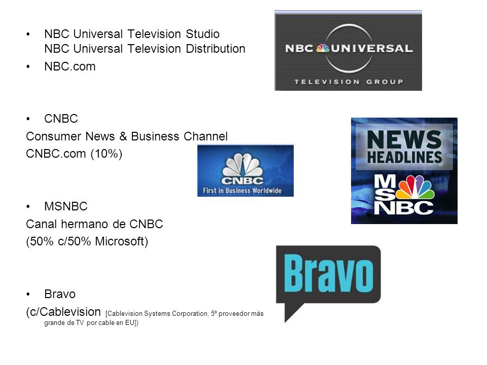 NBC Universal Television Studio NBC Universal Television Distribution