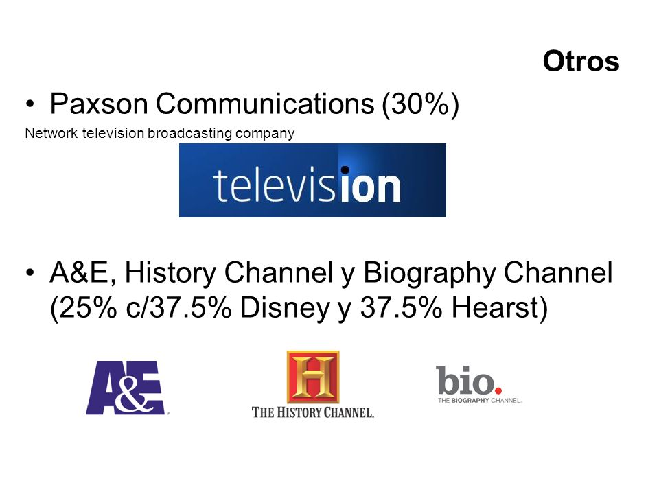 Paxson Communications (30%)