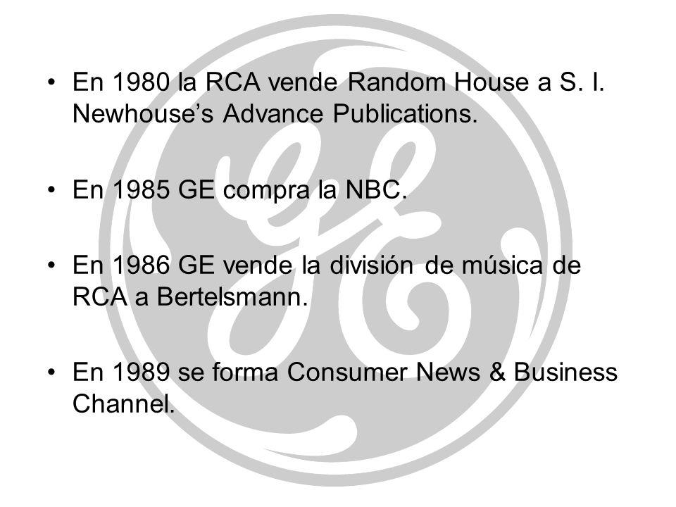 En 1980 la RCA vende Random House a S. I