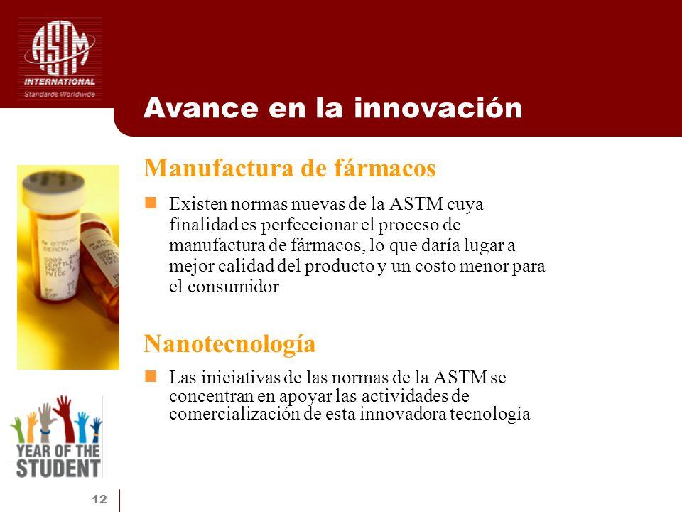 Avance en la innovación