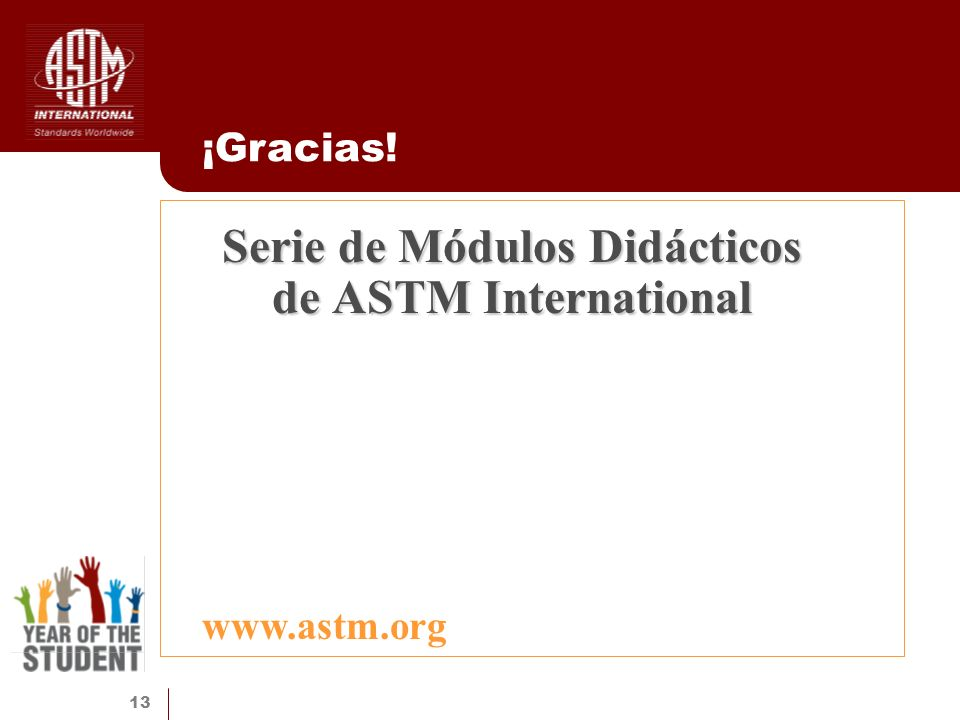 Serie de Módulos Didácticos de ASTM International