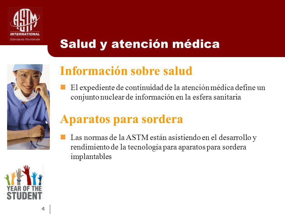 Salud y atención médica