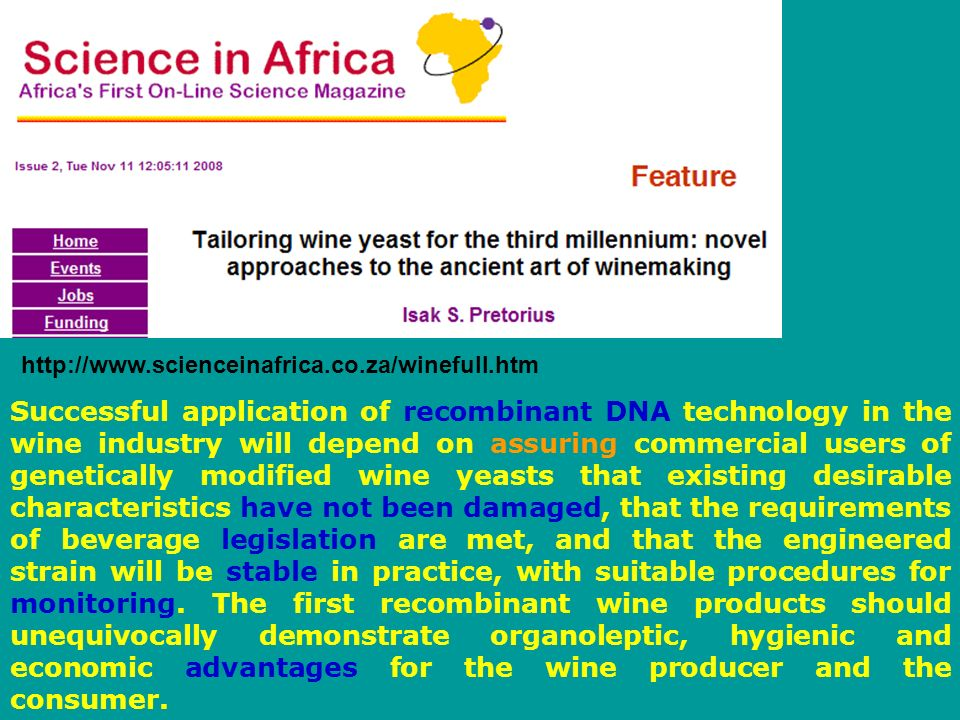 http://www.scienceinafrica.co.za/winefull.htm