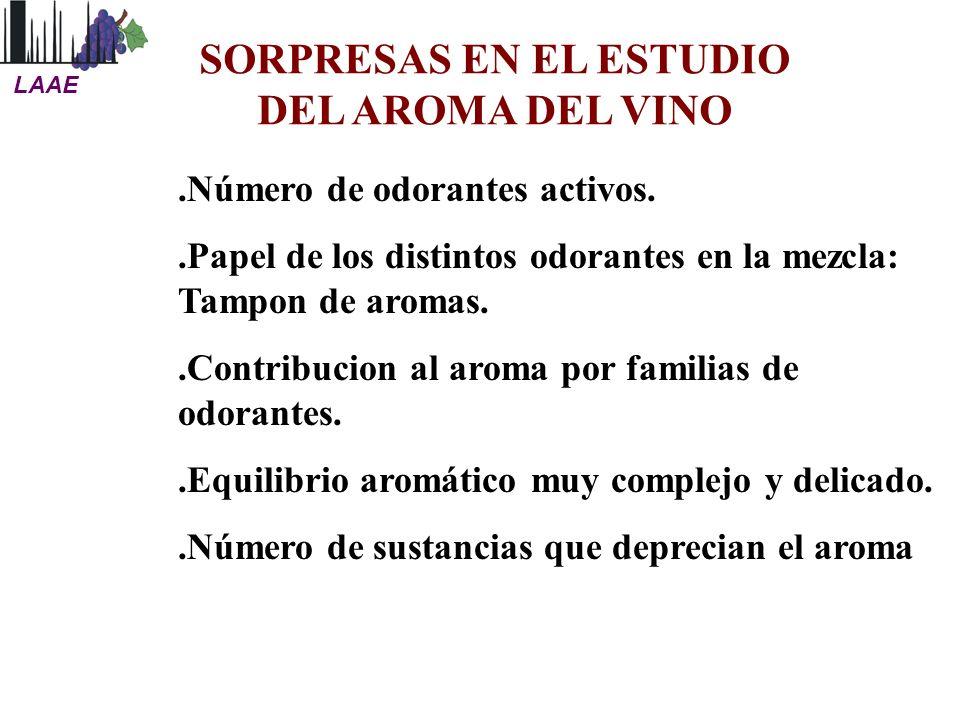 SORPRESAS EN EL ESTUDIO DEL AROMA DEL VINO