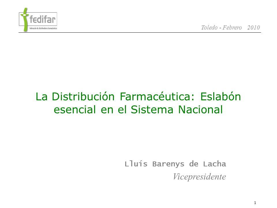 La Distribución Farmacéutica: Eslabón esencial en el Sistema Nacional