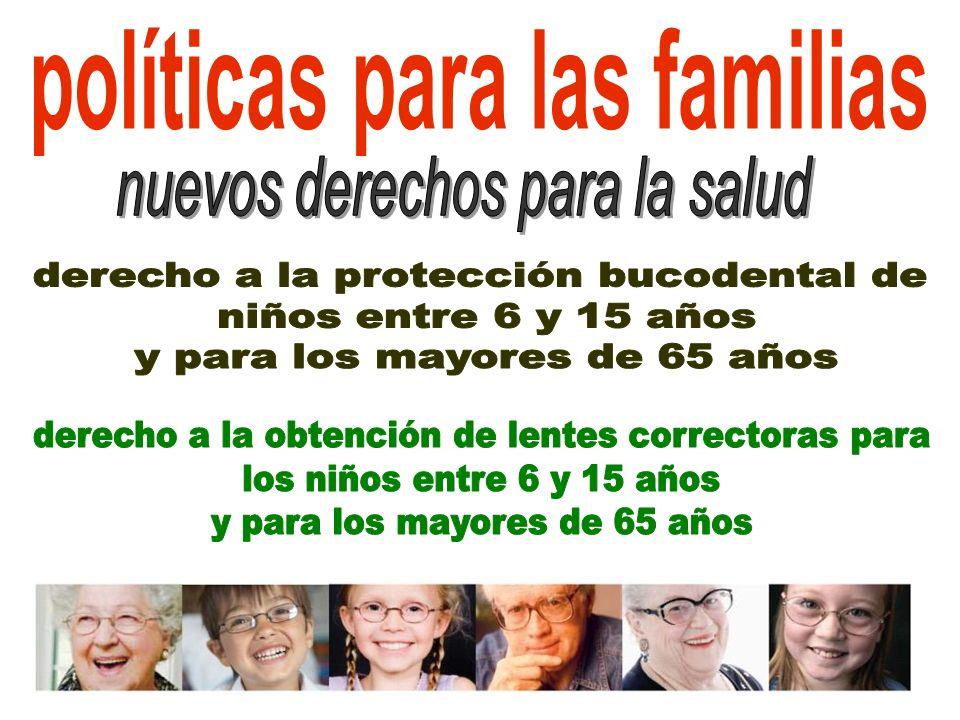 políticas para las familias
